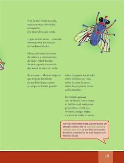 Apoyo Primaria Español Lecturas 6to Grado Las moscas