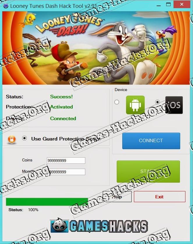 Looney Tunes Dash Hack Cheat Online Generator Bucks,Coins