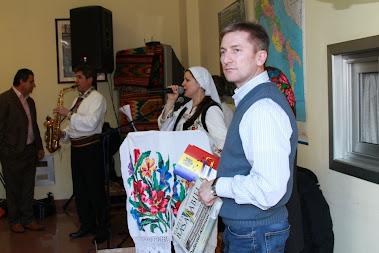 Ghidul a ajuns la Centrul  Diaspora Moldova in Venetia
