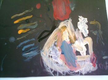 Abstrato,Amanda 8 anos