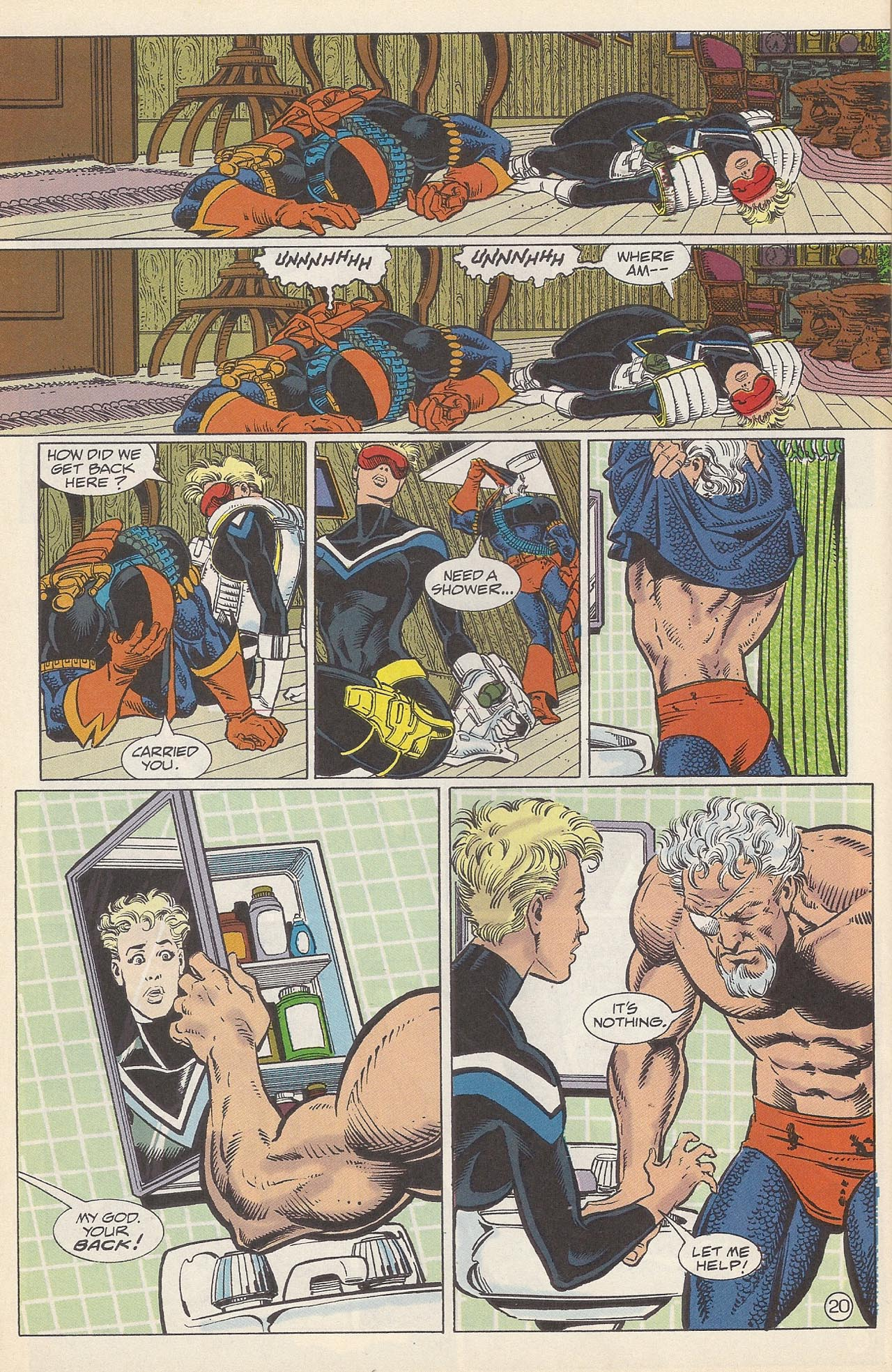 Deathstroke (1991) Issue #10 #15 - English 24
