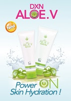 Introducing DXN Aloe.V Facial Scrub & Hydrating Mask