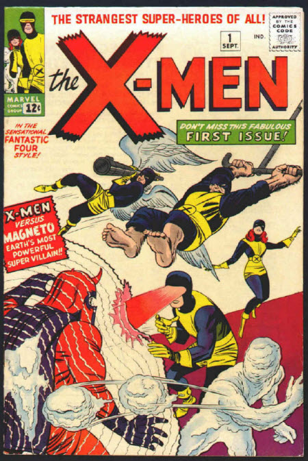 Tapa del primer comic de los X-Men