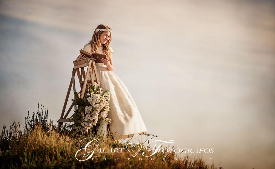 Fotografia castell n fot grafo de boda castell n for Fotos comunion exterior nina