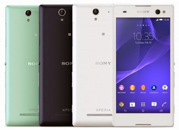 Sony anuncia Xperia C3: câmera frontal de 5 megapixels
