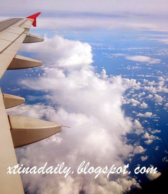 Clouds otw to Malaysia