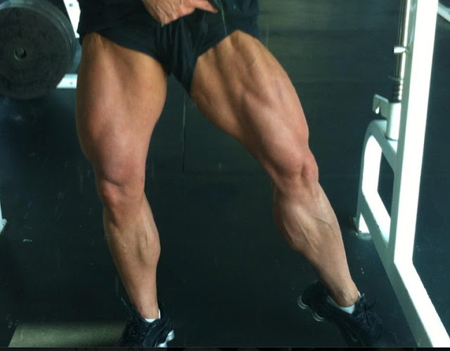 Athena Siganakis Sexy Muscular Legs For Toronto Pro Show