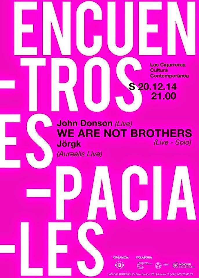 [EE] Encuentros Espaciales - LIVE!: