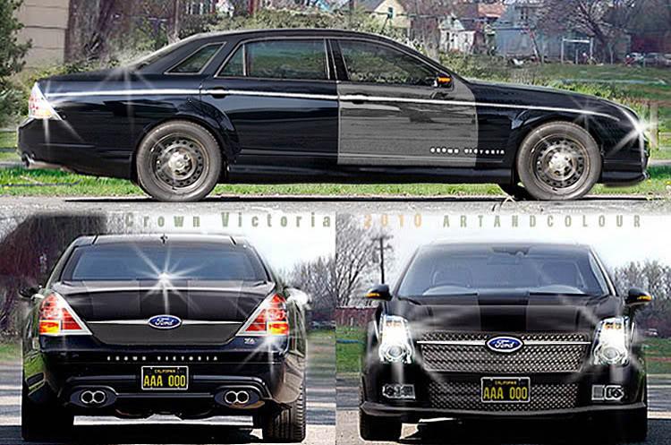 caseyartandcolourcars Repost 2010 Crown Victoria Concept