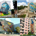 Τεράστιες τοιχογραφίες αναμορφώνουν μια πόλη!