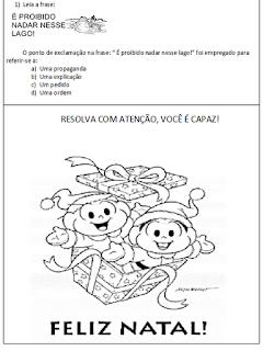 língua portuguesa atividades-3º ano