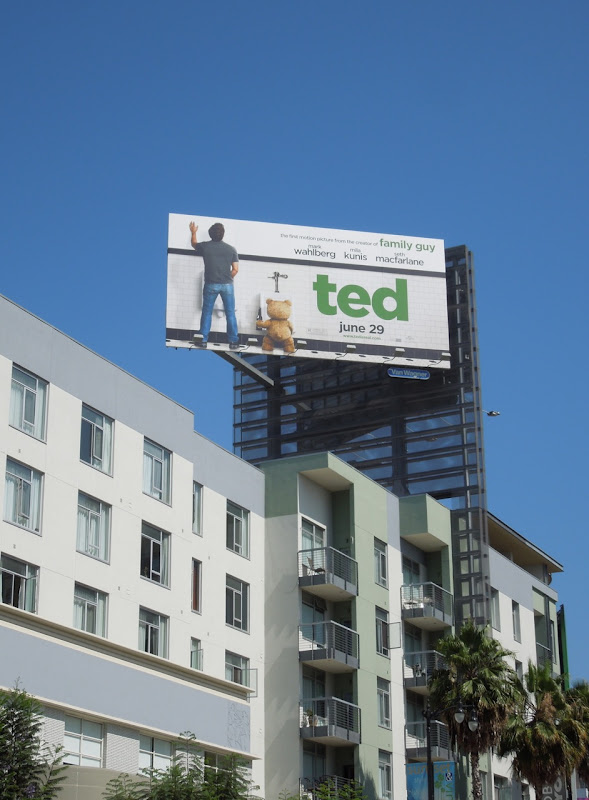Ted movie billboard