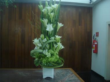 Meu arranjo, como designer floral.
