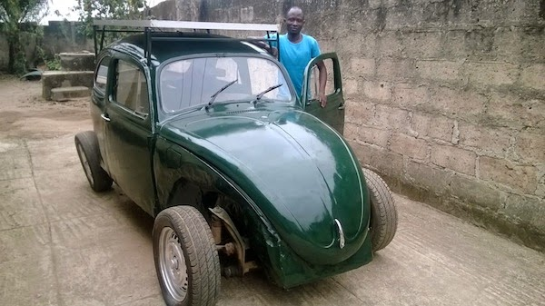 Nigerian Student Launch its First Solar Car