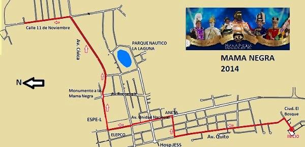 Fiestas de Latacunga – Mamanegra 2014