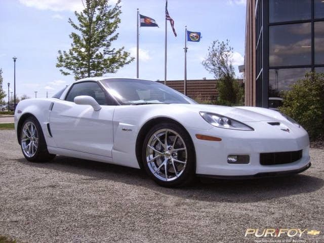 2012 Corvette Z06 at Purifoy Chevrolet