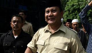 Prabowo Subianto Calon Presiden Terfavorit