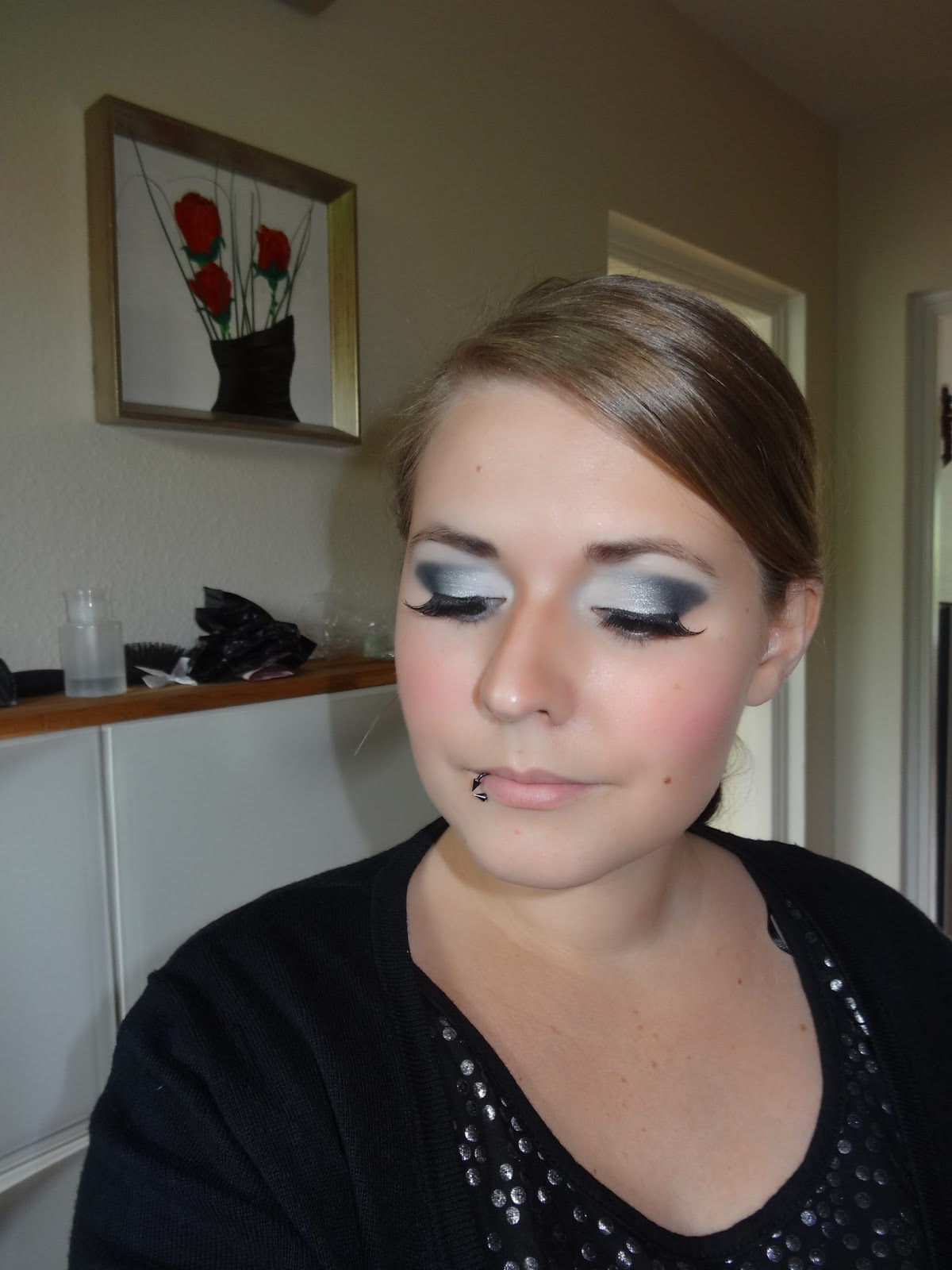 silver night make up