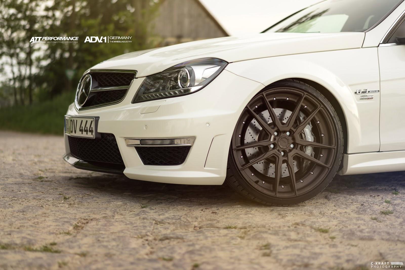 Amg G Wagon >> Mercedes-Benz S204 C63 AMG on ADV5.2 MV2 Wheels   BENZTUNING