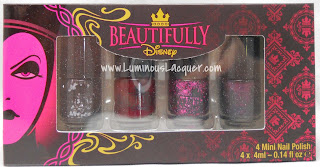 LuminousLacquer.com - Beautifully Disney Nail Polish - Wickedly Beautiful Villains Collection