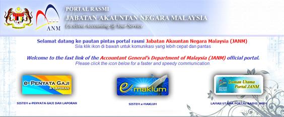 e-Penyata Gaji | Jabatan Akauntan Malaysia