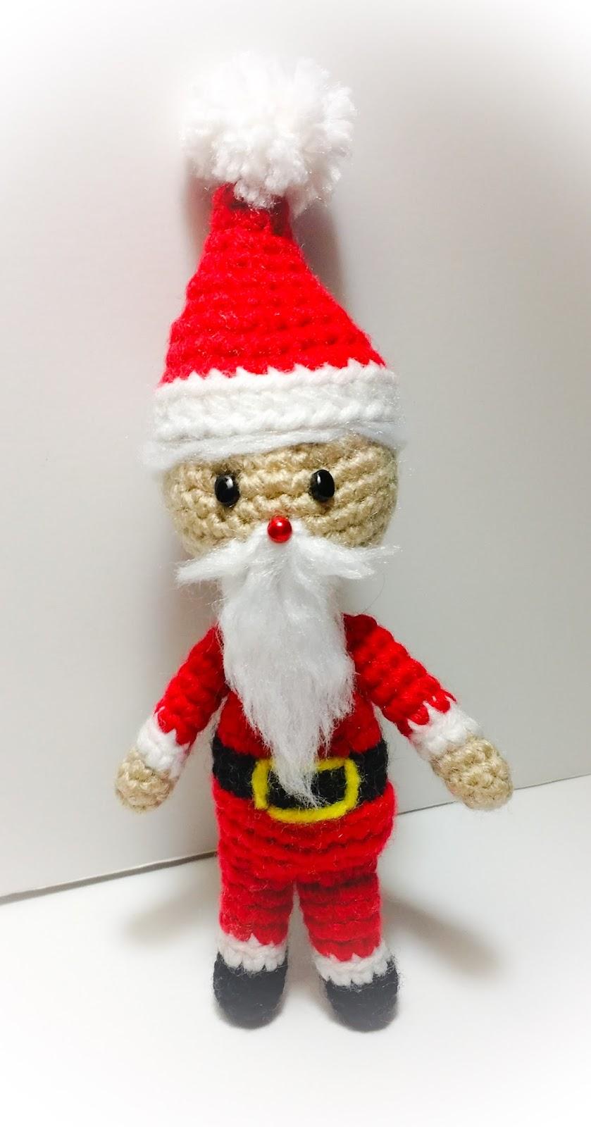 Tatiana Rodriguez\'s Pink Crochet Designs: Free Tiny Santa Amigurumi ...