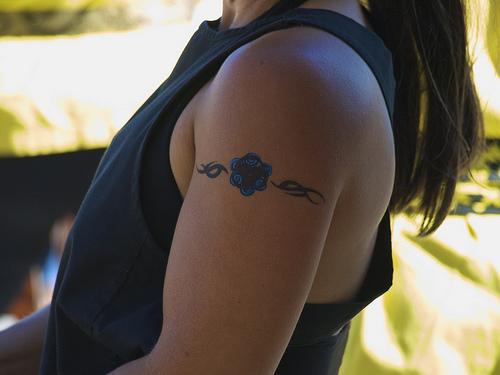 Armband Tattoos For Women Tribal Armband Tattoo