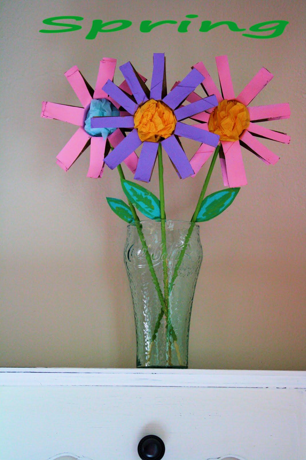 ladybugs    crafts    and 14     spring flower kid craft