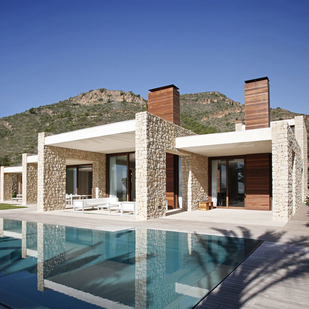 World of architecture modern architecture defining contemporary lifestyle in spain Modern villa architecture design