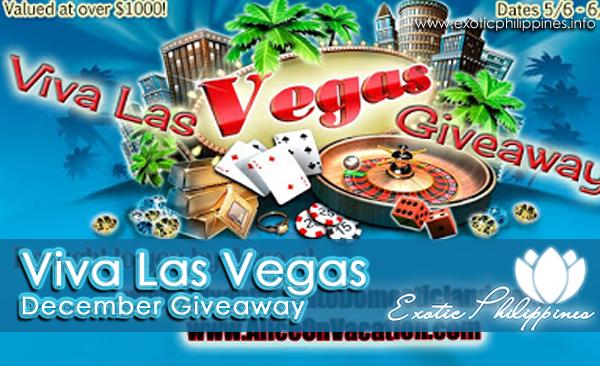 Viva Las Vegas December Giveaway