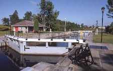 Rideau canal lock