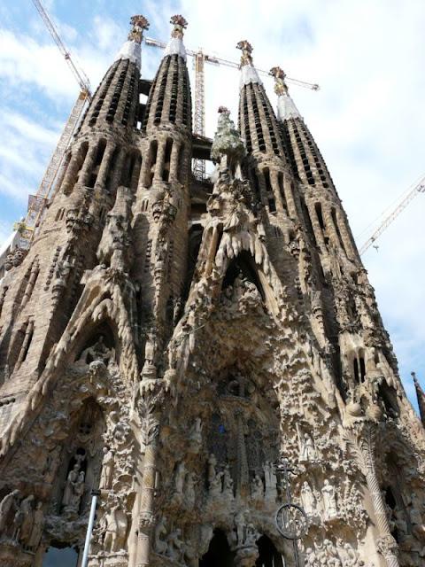 Sagrada Familia wBarcelonie
