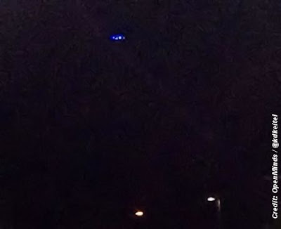UFO Over Scotiabank Field at Nat Bailey Stadium, Vancouver Canada 8-3-13