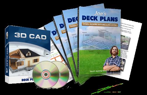 joe's deck plans