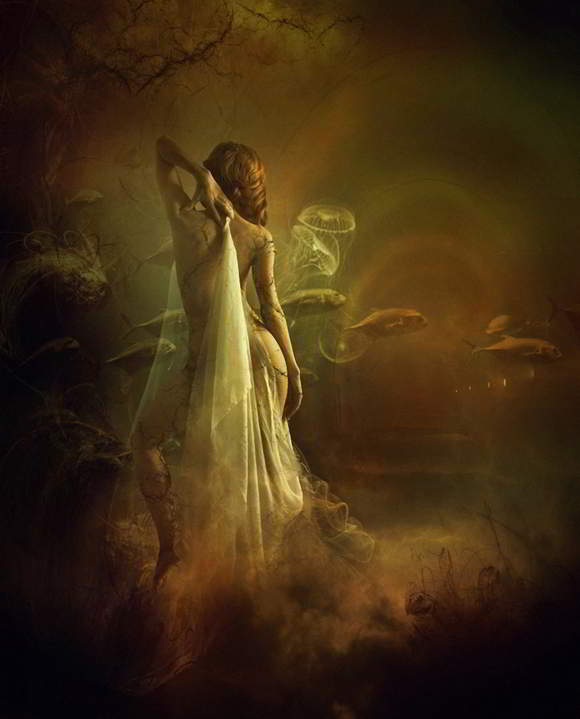 Karya Seni Digital Painting Surealis Irene Z Miraccoon