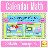 Interactive  Board Calendar Math