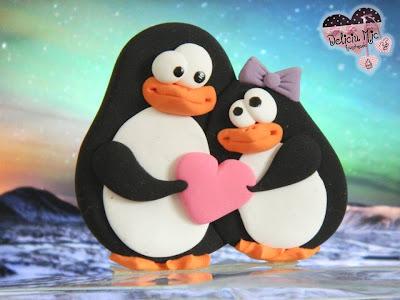brosa fimo pinguin