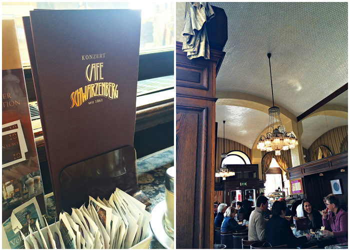 lovely places :: Cafe Schwarzenberg