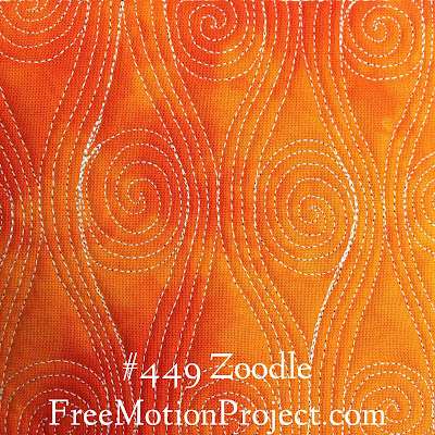 Free Motion Quilting Project Design Zoodle