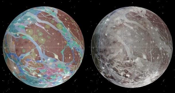 Conheça o primeiro mapa geológico de Ganimedes, a maior lua do Sistema Solar
