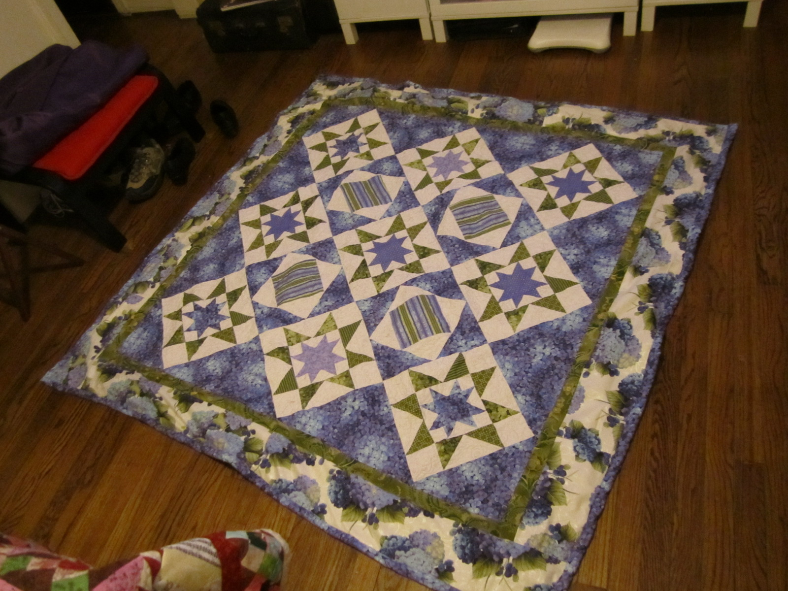 52 Weeks - My Tales of Resolution: February 2011 : orion star quilt - Adamdwight.com