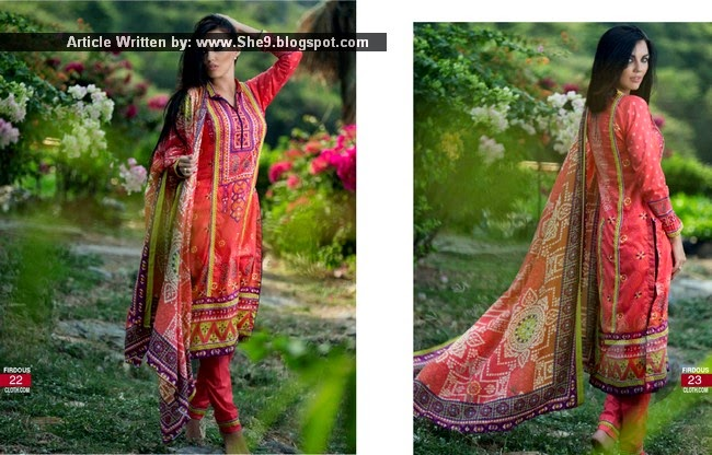 Firdous Korean Lawn 2015
