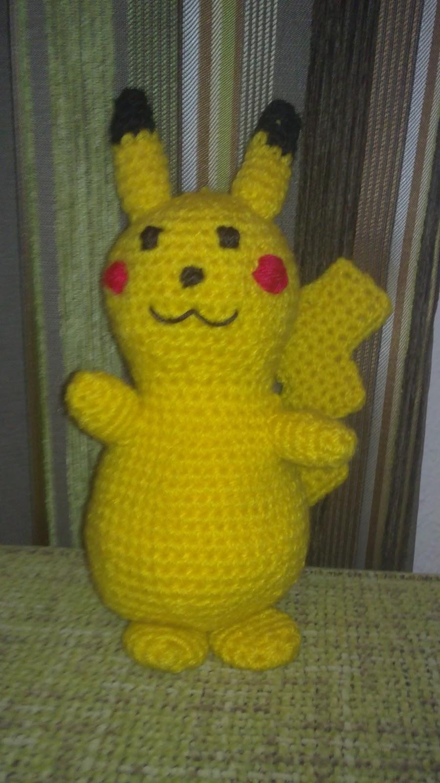 Mis cositas de crochet & Amigurumis: Pikachu