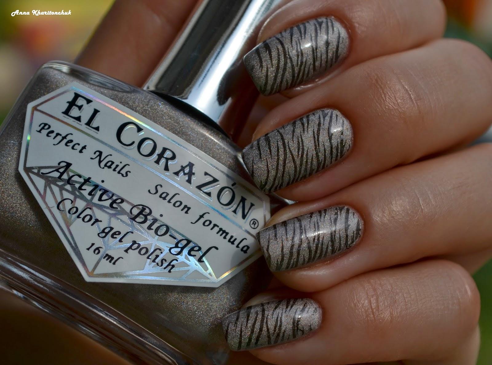 El Corazon 423/39 Prizma + стемпинг Lesly LS-118