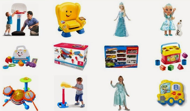 Best And Top Toys For Christmas Gifts - Age Range 2 to 4 Years