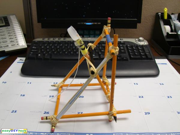 Easy handmade Catapult toy