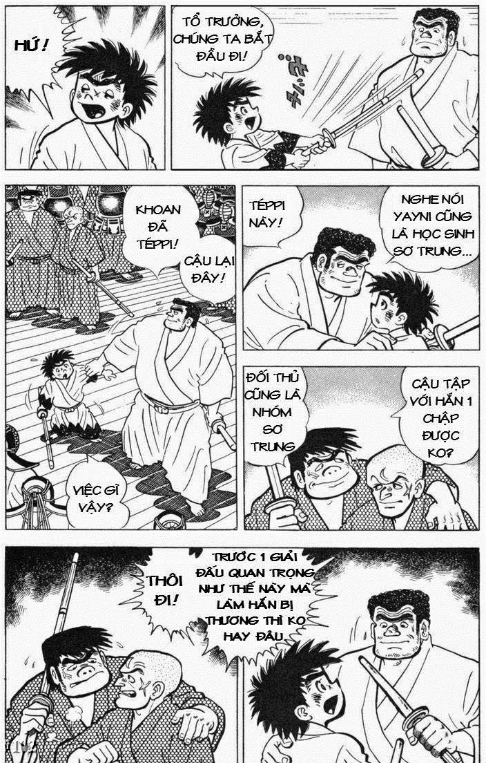 Siêu quậy Teppi chap 105 - Trang 19