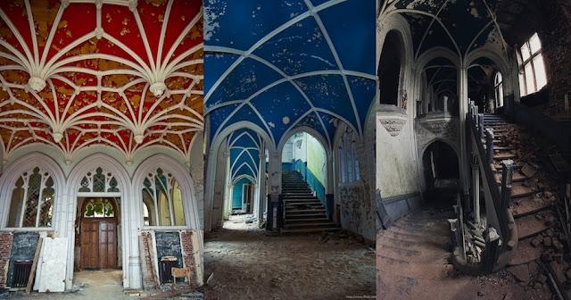 Castillo Miranda, Belgica, abandonado