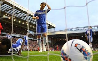 أهداف مباراة ليفربول وتشيلسي 4-1 في الدوري الانجليزي 8-5-2012