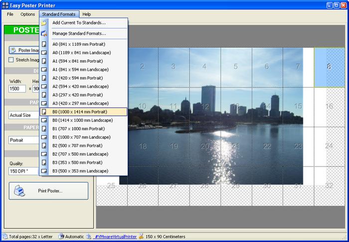 تحميل برنامج طباعة الملصقات Easy Poster Printer 3.0.2.0